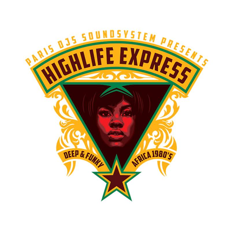 The Highlife Express - Deep and Funky Africa 80's
