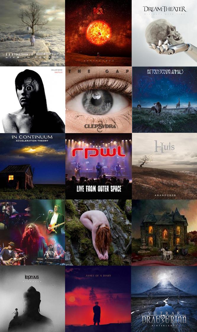 La Filière Progressive - Le Top 15 Albums de 2019
